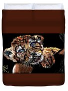 Lay Your Troubles On My Shoulder Put Your Worries In My Pocket  Duvet Cover