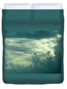 Layers Of Clouds Duvet Cover