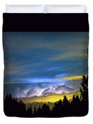 Layers Of The Night Duvet Cover