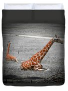 Lazing In The Sun Duvet Cover