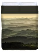 Lazy Afternoon In Beskid Duvet Cover