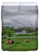 Lazy Afternoon In The Country Duvet Cover