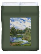 Lazy Afternoon In The Park Duvet Cover