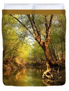 Lazy Afternoon On The Creek 2 Duvet Cover