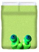 Lazy Alien Duvet Cover