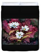 Lazy Daisies Duvet Cover