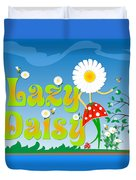 Lazy Daisy Duvet Cover