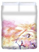 Lazy Days - Lion Duvet Cover