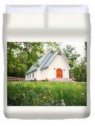 Lazy G Church Duvet Cover