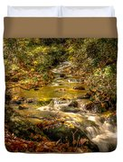 Lazy Mountain Water Fall Duvet Cover