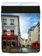 Le Consulat Duvet Cover by Inge Johnsson