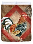 Le Coq - Greet The Day Duvet Cover