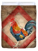 Le Coq - Timeless Rooster  Duvet Cover