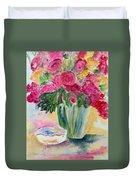 Le Fleur  Duvet Cover