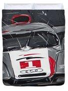 Le Mans Audi R18 Duvet Cover