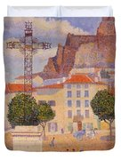 Le Puy The Sunny Plaza 1890 Duvet Cover