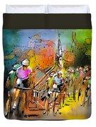 Le Tour De France 04 Duvet Cover
