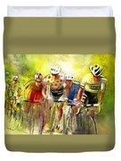 Le Tour De France 07 Duvet Cover