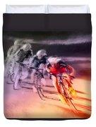 Le Tour De France 13 Duvet Cover
