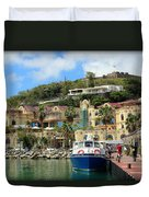 Le West Indies Mall In St. Martin  Duvet Cover