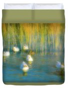 Lead Me Gently Home Duvet Cover