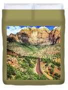 Lead Me To Zion Duvet Cover