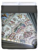 Leading To The Sistine Chapel Duvet Cover