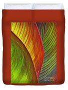 Leaf Abstract 3 Duvet Cover