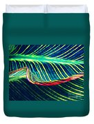 Leaf Abstract 8 Duvet Cover