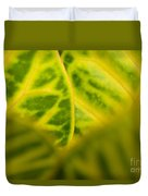 Leaf Abstract Duvet Cover