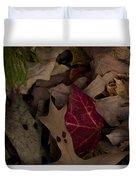 Leaf Collage Duvet Cover
