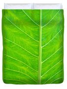 Leaf Detail Duvet Cover