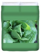 Leaf Lettuce Part 4 Duvet Cover