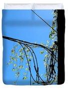 Leaf Lines Duvet Cover