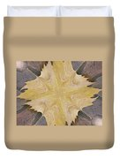 Leaf On Bricks 6 Duvet Cover