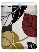 Leaf Story Duvet Cover