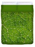 Leaf Veins Duvet Cover