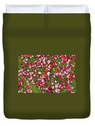Leafs On Grass Duvet Cover
