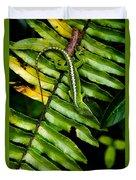 Leafy Lizard Duvet Cover
