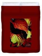 Leafy Melange Duvet Cover