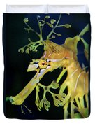 Leafy Sea Dragon Duvet Cover by Mariola Bitner