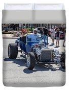 Leander Texas Car Show Riding High Duvet Cover