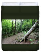 Leaning Tree Duvet Cover