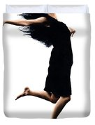 Leap Into The Unknown Duvet Cover