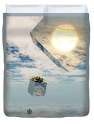 Leaps And Bounds Duvet Cover