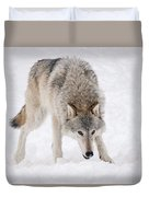 Leary Wolf Style Duvet Cover