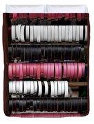 Leather Bracelets Duvet Cover