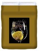L'eau De Lemon Duvet Cover