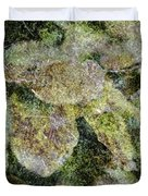 Leaves And Moss Duvet Cover