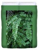 Leaves Cascading Duvet Cover